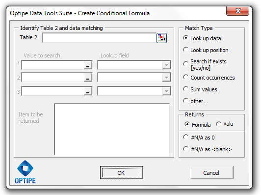 Create Conditional Formula